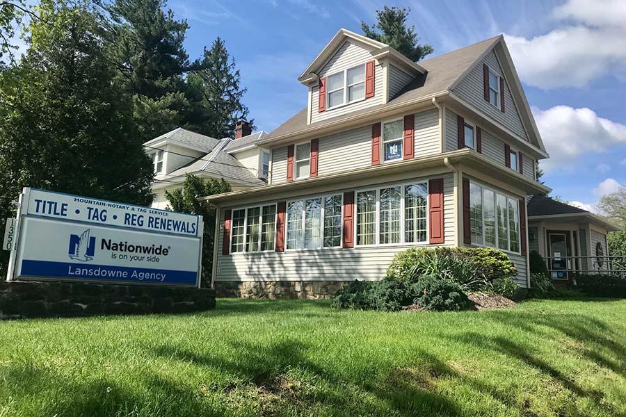 Mount Pocono PA - View of Lansdowne Office in Mount Pocono Pennsylvania